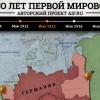 «Сто лет Первой Мировой» от AiF.ru