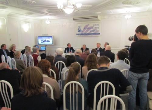 Журналисты встретились с Жоресом Алферовым
