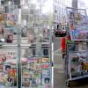 В столице появились мобильные стойки по продаже прессы