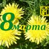 C праздником весны, любви и надежды!