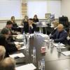 На заседании секретариата СЖР