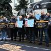 Акция солидарности с Кириллом Вышинским прошла у посольства Украины в Москве