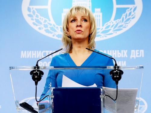 Захарова: Немецкие политики и медиа устроили заговор против российских СМИ