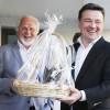 Губернатор Московской области Андрей Воробьев поздравил «МК» со столетием