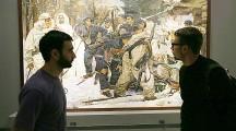 Открылась выставка «Память поколений: Великая Отечественная война в изобразительном искусстве»