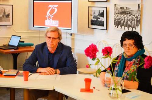 Пресс-конференция участников проекта «Победа-75» о мониторинге юбилейной кампании
