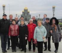 Члены СЖМ побывали на экскурсии в парке «Патриот»