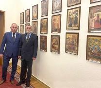 Выставка «Образ Богородицы в Православной Церкви» открылась в Администрации Президента РФ