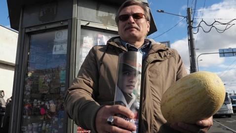 В Петербурге газетные киоски стали торговать фруктами