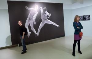 На выставке Вяткина