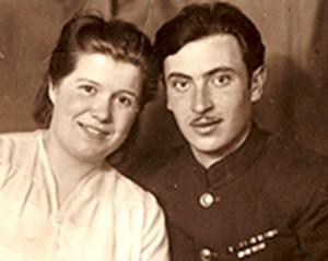 Livertovskiy_s_zhenoy_Zorey_Vladimirovnoy___Moskva__1946_g.