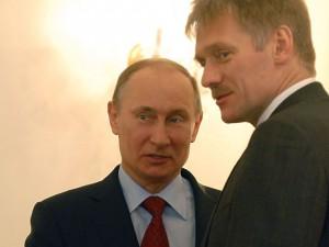 Путин и Песков 2