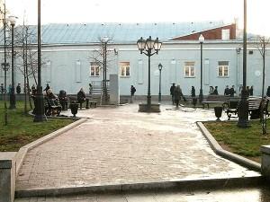 Место для памятника