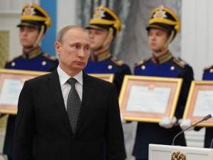 Путин в Екатерининском зале