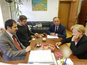 Л. Щербина и Ихсан Дилекчи. СЖМ. MIRNas
