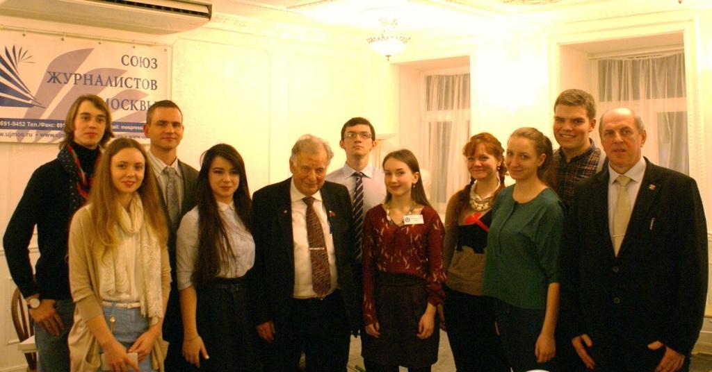 Студенты-бауманцы с Нобелевским лауреатом
