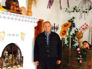 Александр Андреев в шинке Солохи. Диканька.