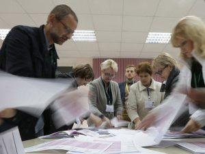 Выборы. Подсчет голосов. Наблюдатели. СМИ
