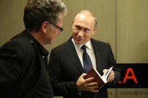 В.Путин и Х.Зайпель