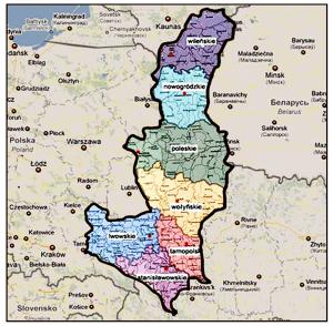 Восточные территории